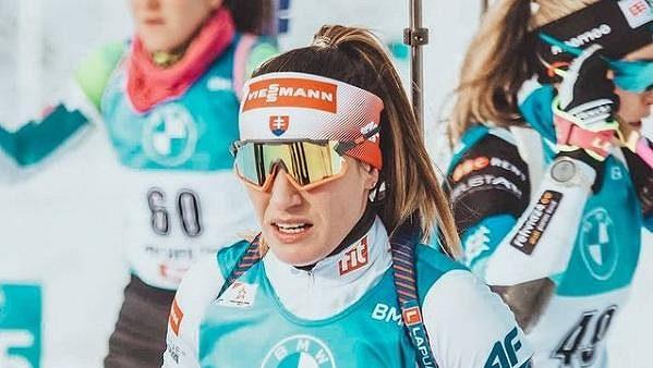 Slovenská biatlonistka Paulina Fialková.