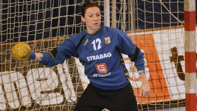 Brankářka Barbora Raníková.