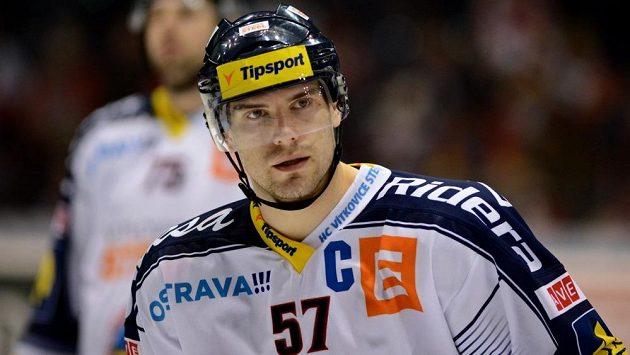 Rostislav Olesz v dresu Vítkovic.