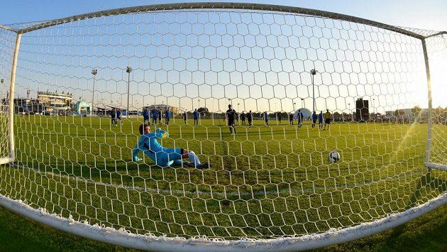 Pavel Mamajev rozhodl z penalty o výhře Krasnodaru.