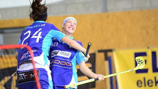 Vítkovické florbalistky porazily Bohemians v semifinále play off v obou domácích zápasech.
