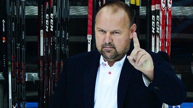 Nový trenér hokejových Pardubic Ladislav Lubina.