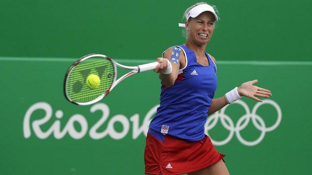 Andrea Hlaváčková na olympijských hrách v Riu.