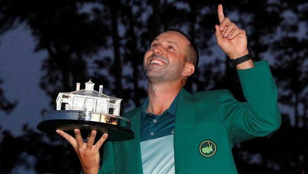 Španěl Sergio García vyhrál golfové Masters.