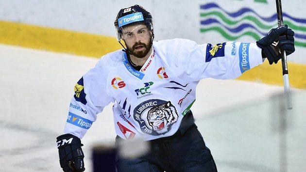 Autor druhého gólu Michal Řepík z Liberce.