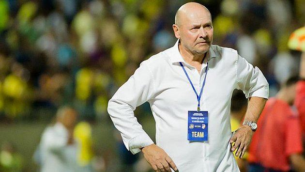 Trenér Plzně Miroslav Koubek po výhře v 3. předkole Ligy mistrů na půdě Maccabi Tel Aviv.
