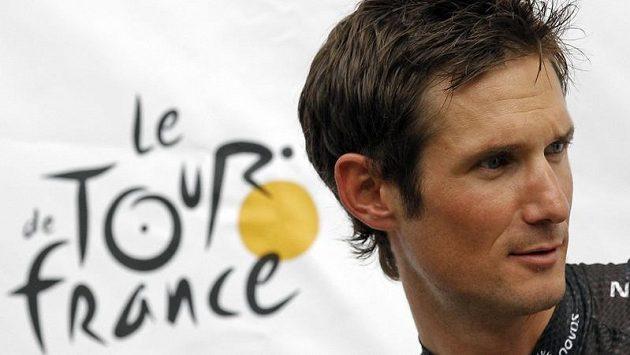 Lucemburský cyklista Fränk Schleck během Tour de France