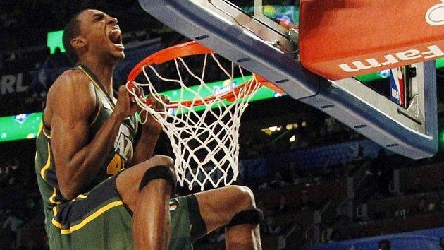 Jeremy Evans vyhrál v rámci All Star NBA soutěž ve smečování.