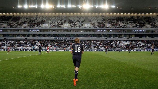 Jaroslav Plašil na trávníku při svém posledním utkání v dresu Bordeaux.