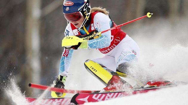 Mikaela Shiffrinová ve slalomu SP v Aspenu celé pole soupeřek deklasovala.