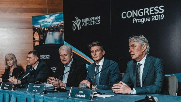 Praha hostila atletický kongres, místopředsedou se stal Libor Varhaník.