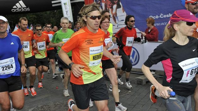 Pavel Nedvěd běhání Prahou dobře zná.