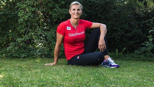Světová rekordmanka v hodu oštěpem Barbora Špotáková.