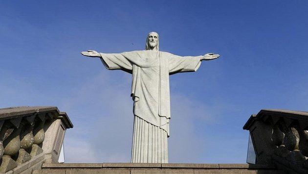 Kristova socha, dominanta Ria. Ilustrační snímek.