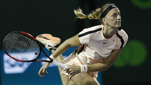 Petra Kvitová na turnaji v zámoří - ilustrační foto.