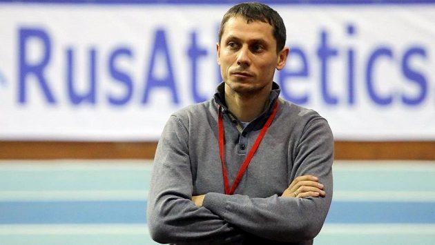 Šéftrenér ruské atletické reprezentace Jurij Borzakovskij - ilustrační foto.