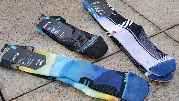 Ponožky Stance nabízejí nejrůznější délku, tloušťku i design.