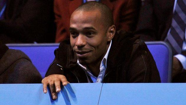 Francouzský fotbalista Thierry Henry.