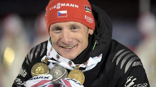 Ondřej Moravec na MS ve Finsku zkompletoval medailovou sbírku.