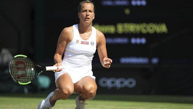 Dělala všechno možné, ale neměla nárok. Česká tenistka Barbora Strýcová v semifinále Wimbledonu neuspěla.