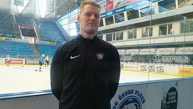 Kondiční trenér plzeňských hokejistů Jan Snopek.