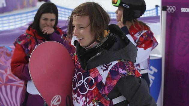 Česká snowboardistka Šárka Pančochová.