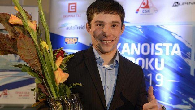 Jiří Prskavec už letos v jedné anketě uspěl, když se stal Kanoistou roku 2019.