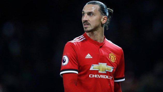 Útočník Zlatan Ibrahimovic je zpátky v sestavě Manchesteru United. Na hřiště vyběhl po vážném zranění dříve než se čekalo.