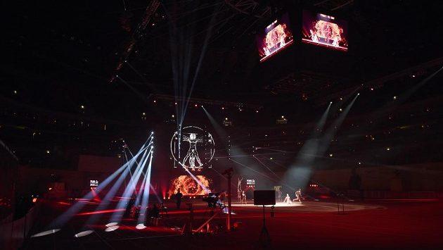 Slavnostní zahájení halového mistrovství Evropy v atletice v pražské O2 areně.
