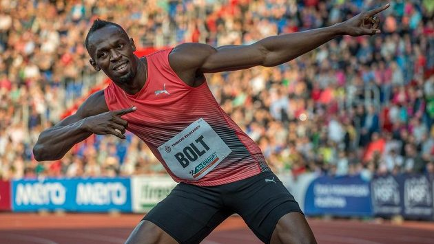 Jamajský sprinter Usain Bolt.
