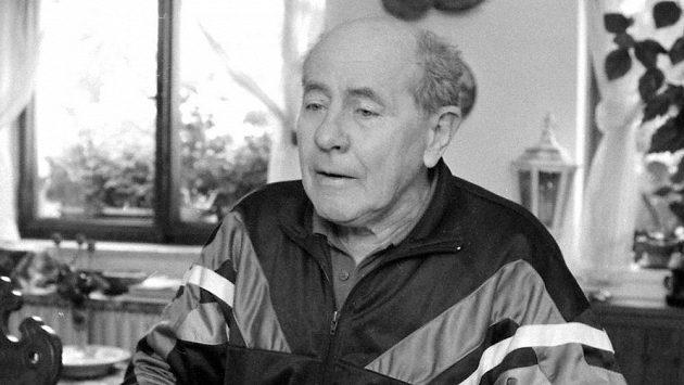 Legendární český běžec Emil Zátopek.