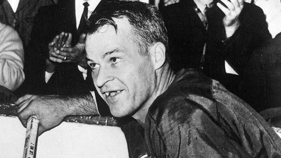 Gordie Howe, legenda zámořské NHL.