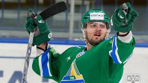 Hokejový útočník Ufy Alexander Radulov