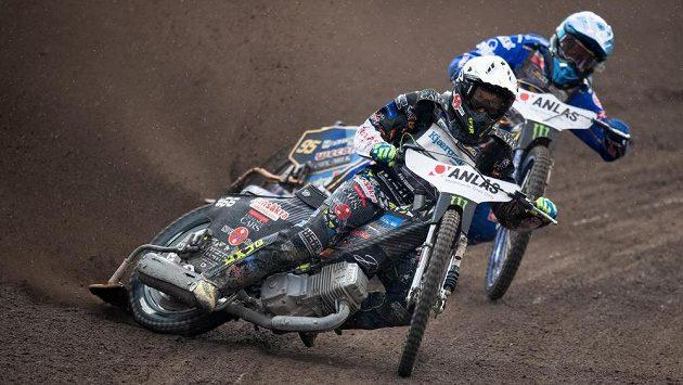Fredrik Lindgren upadl při GP Dánska