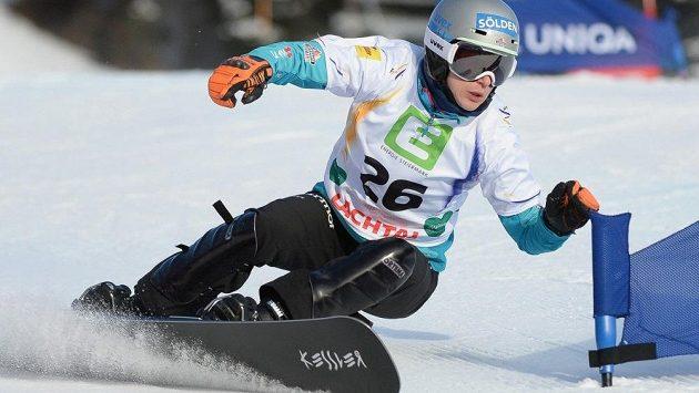 Německá snowboardistka Amelie Koberová.