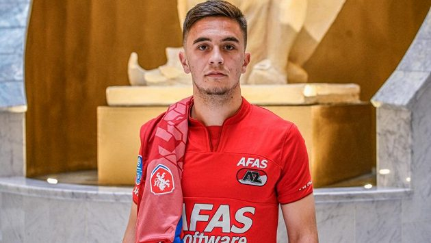 Talentovaný český fotbalista Richard Sedláček se rozjel v nizozemském Alkmaaru.