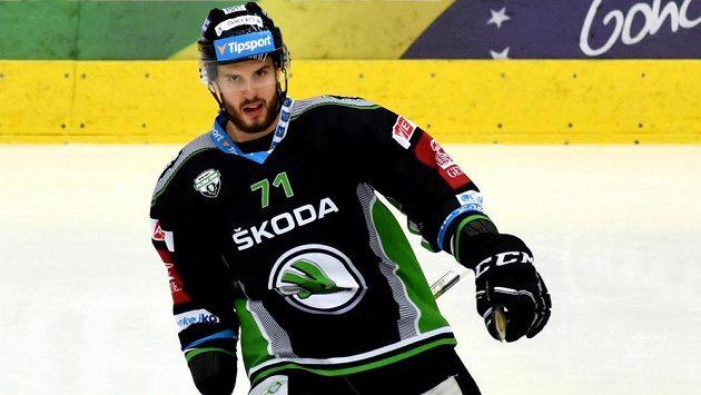 Mladoboleslavský střelec Tomáš Hyka se v úvodním utkání předkola play off na ledě Chomutova blýskl hattrickem.