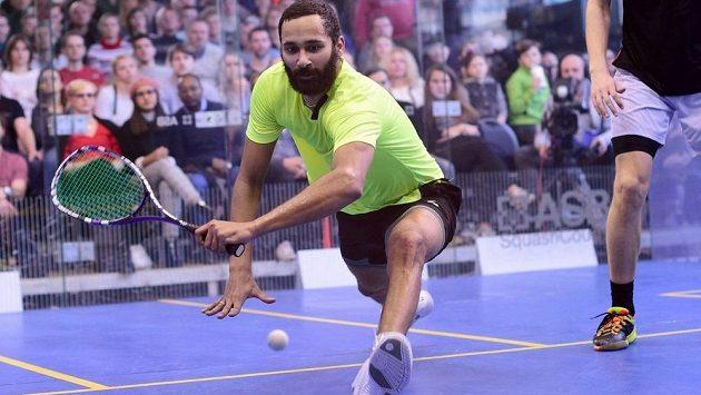 Nový mistr republiky ve squashi - Daniel Mekbib.