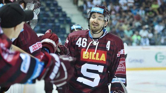 Petr Kumstát, autor druhého gólu Sparty proti Liberci.