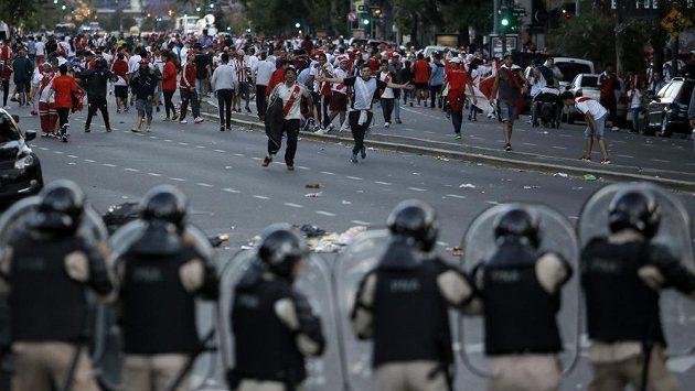 Fanoušci River Plate.