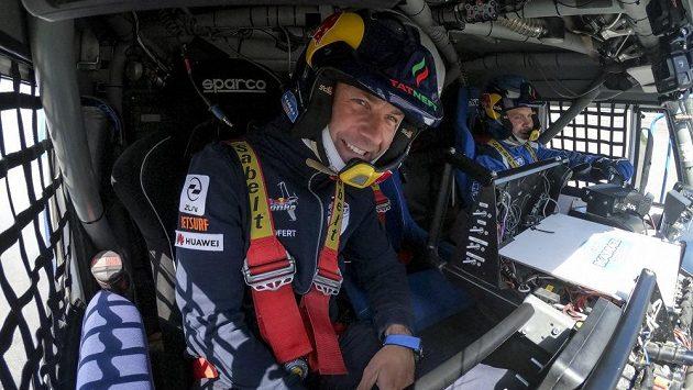 Martin Šonka v trochu jiné kabině...