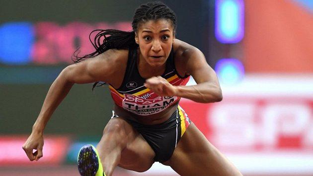 Olympijská vítězka v sedmiboji Nafissatou Thiamová se v Götzisu zaskvěla výkonem 7013 bodů.