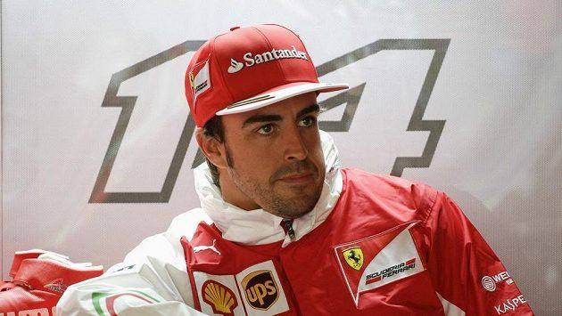 Španěl Fernando Alonso není ve Ferrari spokojen