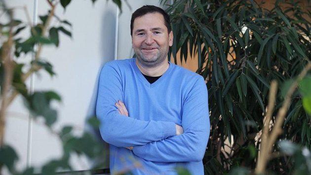 Sportovní komentátor České televize Robert Záruba.