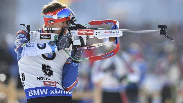 Český biatlonista Ondřej Moravec skončil ve stíhačce na mistrovství světa v Hochfilzenu na pátém místě.
