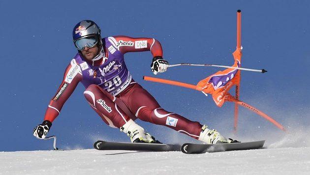 Norský lyžař Aksel Lund Svindal vyhrál sjezd v Lake Louise.