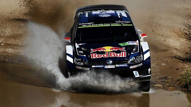 Finský pilot Jari-Matti Latvala během Mexické rallye.