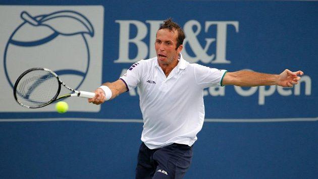 Radek Štěpánek na turnaji BB&T Atlanta Open podlehl domácímu Johnu Isnerovi.