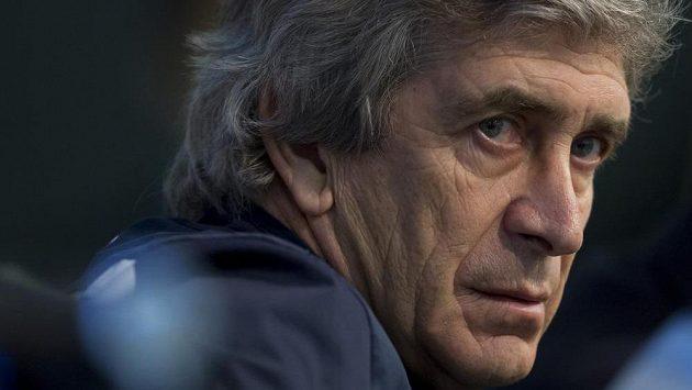 Trenér Manchesteru City Manuel Pellegrini