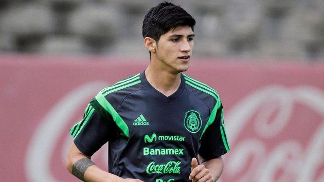 Mexický fotbalista Alan Pulido, který byl unesen na severu Mexika. Snímek je ze 14. května 2014.